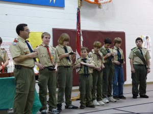 Awards for competing in Tahosa Campout against other Troops