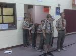 Closing Flag Ceremony