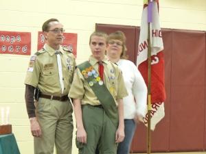 Scout acheiving Life Rank
