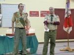 Outgoing Senior Patrol Leader